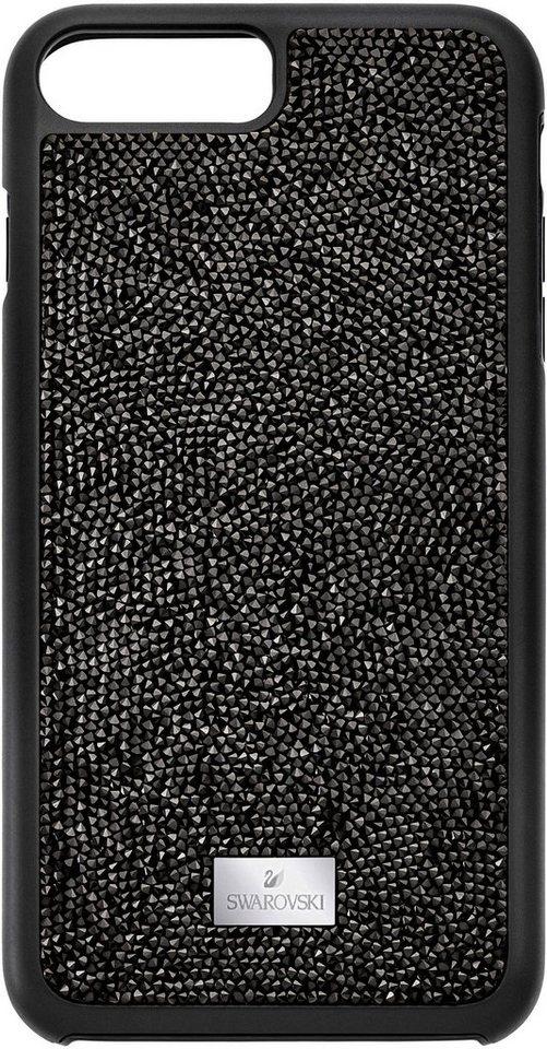 Swarovski Smartphone-Hülle »Glam Rock Etui mit integriertem Bumper, iPhone® 8 Plus, 5300266« iPhone® 8 Plus, mit Swarovski® Kristallen   Accessoires > Etuis   Schwarz   Swarovski