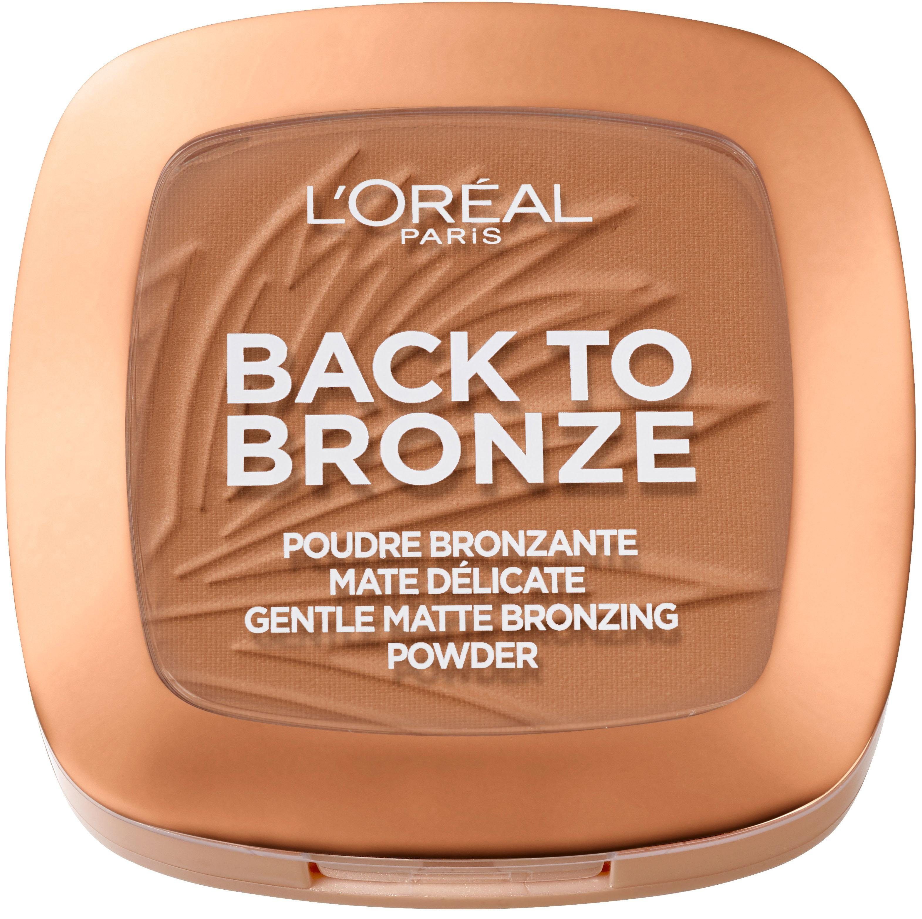 L'Oréal Paris, »Back to Bronze«, Matte Bronzing Powder