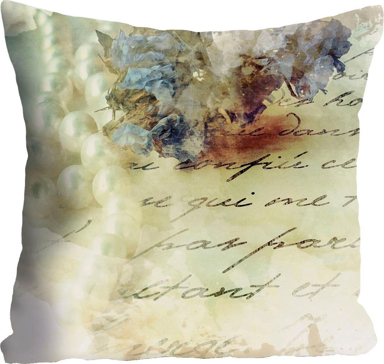 Kissenhülle »Handschrift« 40/40 cm