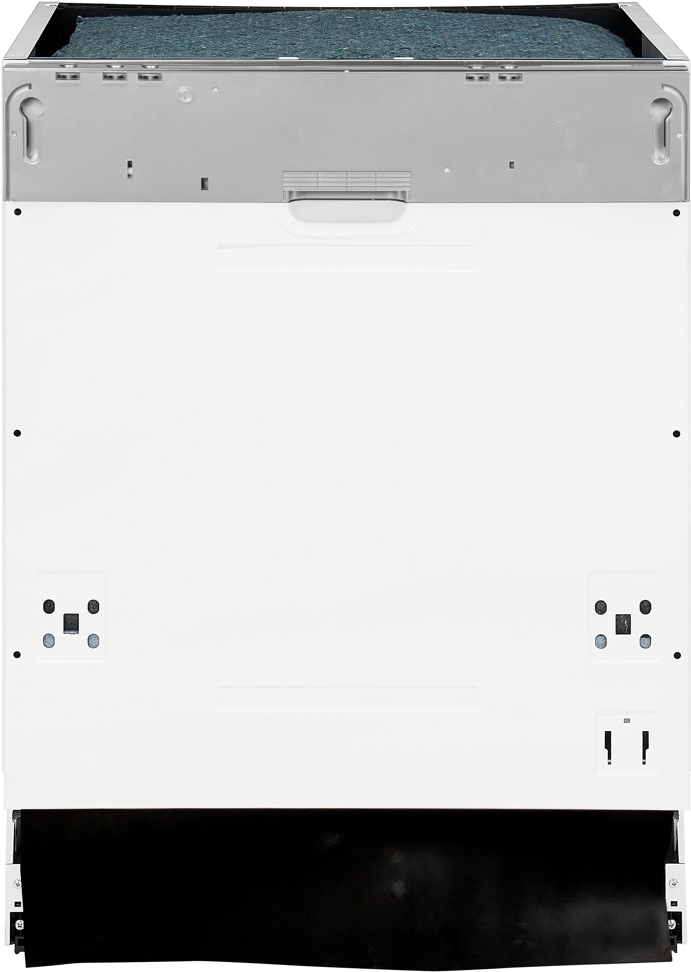 vonReiter vollintegrierbarer Geschirrspüler, VREGSP60214E, 10 l, 14 Maßgedecke