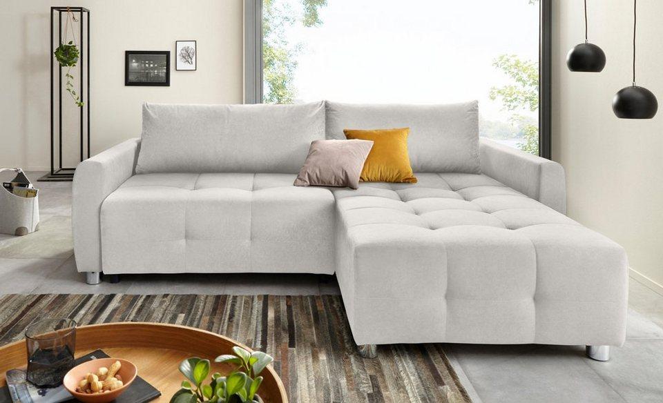 collection ab polsterecke inklusive bettfunktion und bettkasten aus fsc zertifiziertem. Black Bedroom Furniture Sets. Home Design Ideas