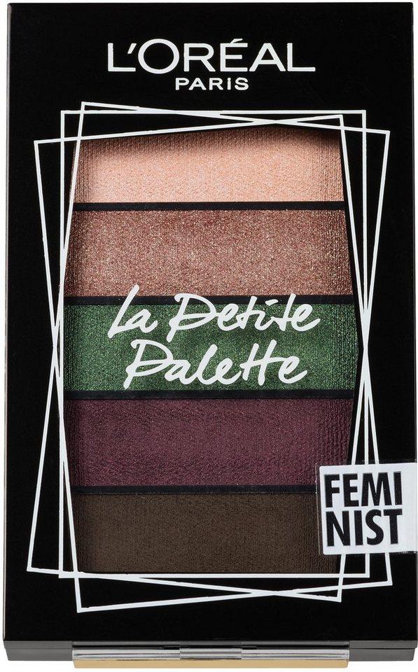 LORÉAL PARIS Lidschatten-Palette »La Petite Palette Nudist«, Puder-zu-Creme-Textur online