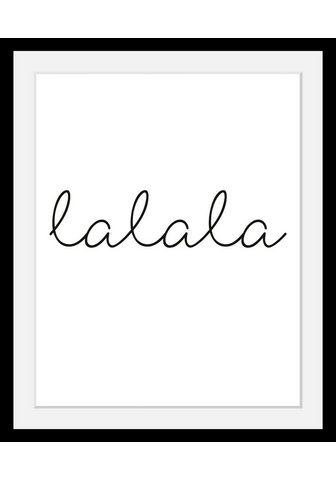 Paveikslas »lalala«