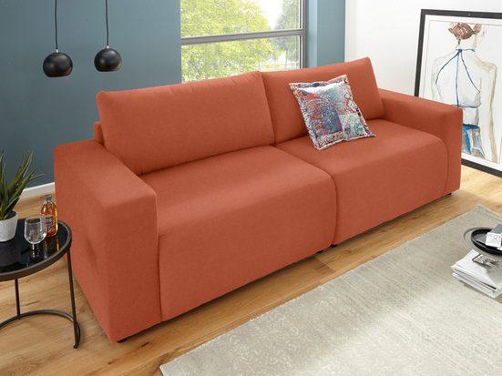 DOMO collection Big-Sofa, inklusive Zierkissen