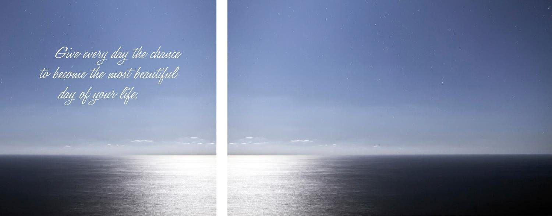 Leinwandbild »Day of your life« 2er-Set