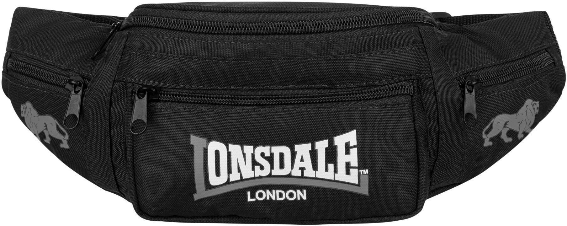 Lonsdale Gürteltasche »HIP BAG«, Mit 5 Reißverschlusstaschen
