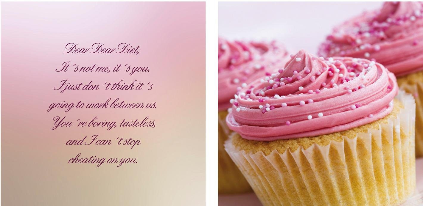 Leinwandbild »Cupcakes« 2er-Set