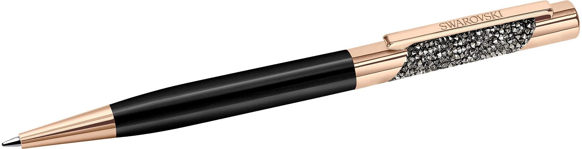 Swarovski Kugelschreiber, »Eclipse Ballpoint Pen, Rose Gold Plated Black, 5285949«