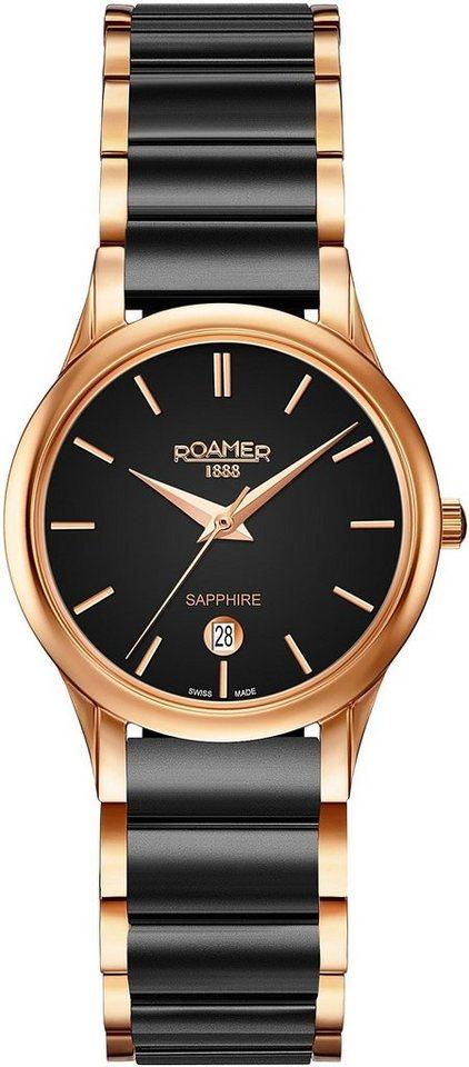 Roamer Schweizer Uhr »C-LINE LADIES, 657844 49 55 60« | Uhren > Schweizer Uhren | Schwarz | Roamer
