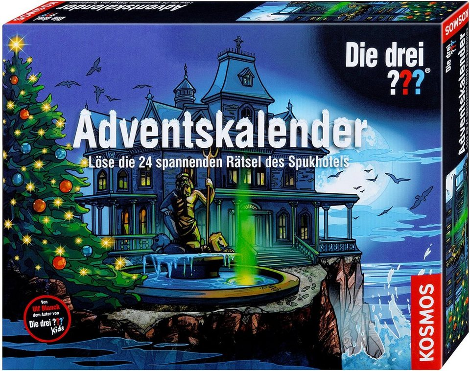 kosmos adventskalender 2018 die drei kaufen otto. Black Bedroom Furniture Sets. Home Design Ideas