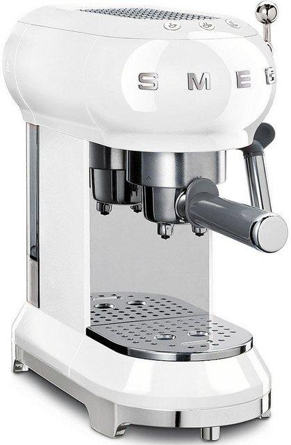 Smeg Espressomaschine ECF01WHEU   Küche und Esszimmer > Kaffee und Tee > Espressomaschinen   Smeg
