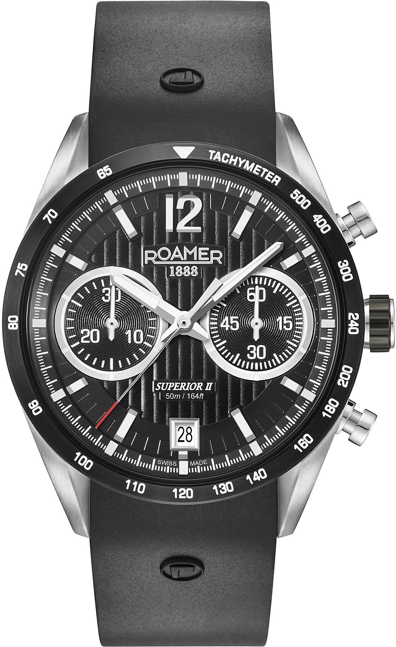 Roamer Chronograph »SUPERIOR CHRONO II, 510902 41 54 05« mit kleiner Sekunde