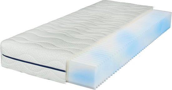 Komfortschaummatratze »EvoX 17«, Breckle, 17 cm hoch, Raumgewicht: 28, Zertifizierte Markenqualität zum Vorteilspreis