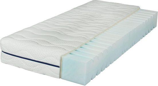 Komfortschaummatratze »EvoX 23«, Breckle, 23 cm hoch, Raumgewicht: 28, Neuartiger, langlebiger Qualitätsschaum EvoX mit Kernschnitt, der die Wirbelsäule entlasten kann. Für einen erholsamen Schlaf!