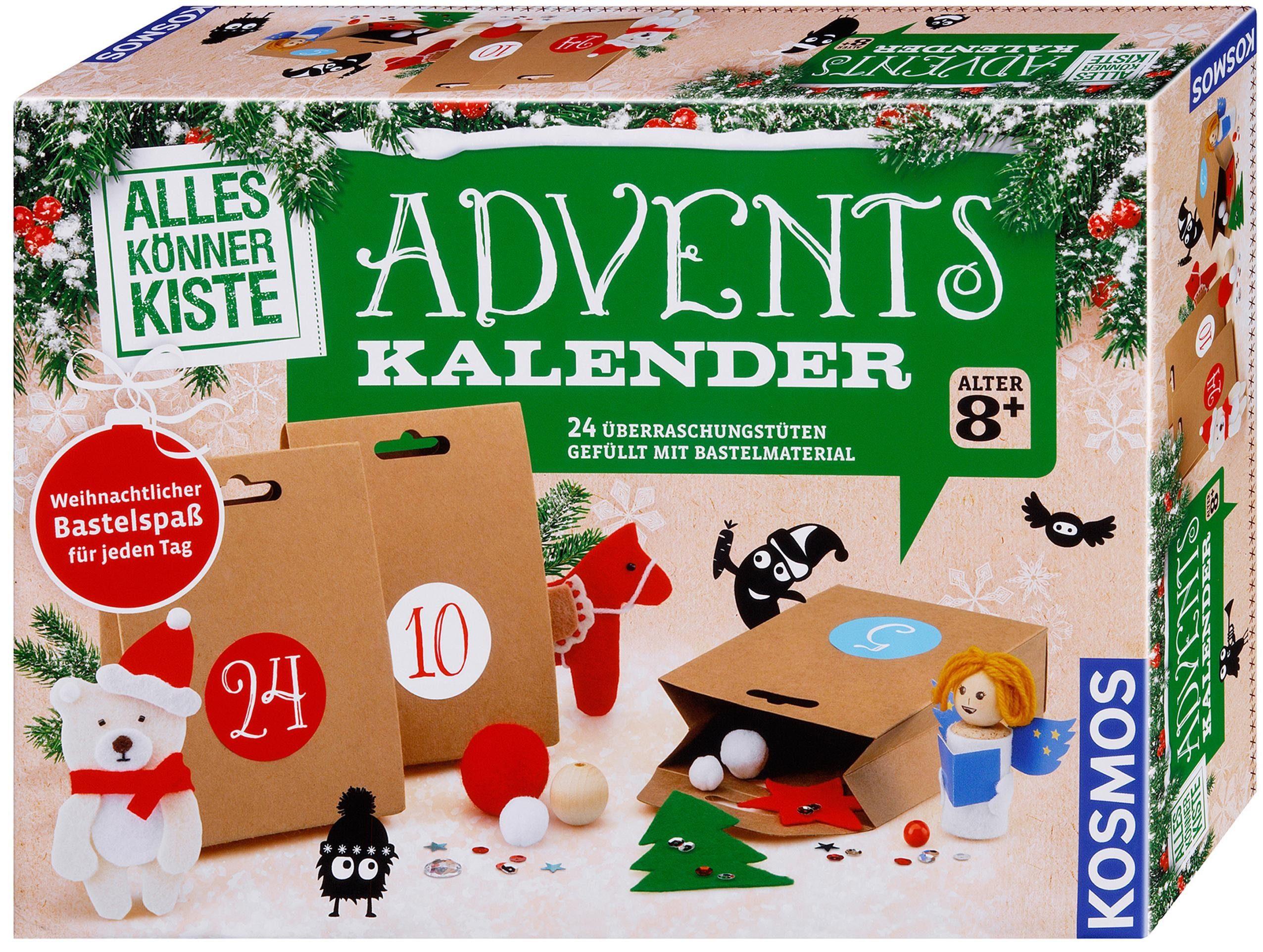 Kosmos Bastel Adventskalender 2018, »AllesKönnerKiste«