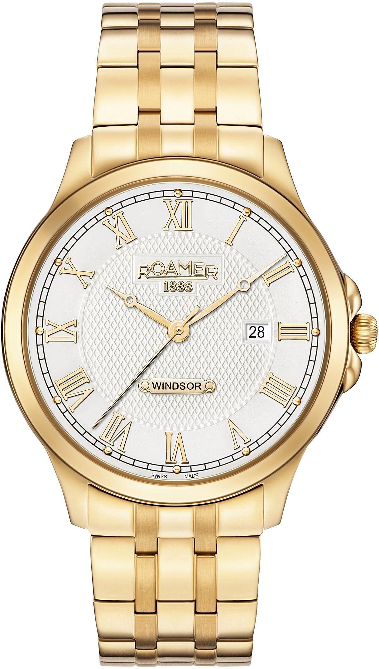 Roamer Schweizer Uhr »WINDSOR GENTS, 706856 48 12 70«