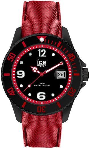 ice-watch Quarzuhr »ICE stell - Balck Red - Large, 015782«
