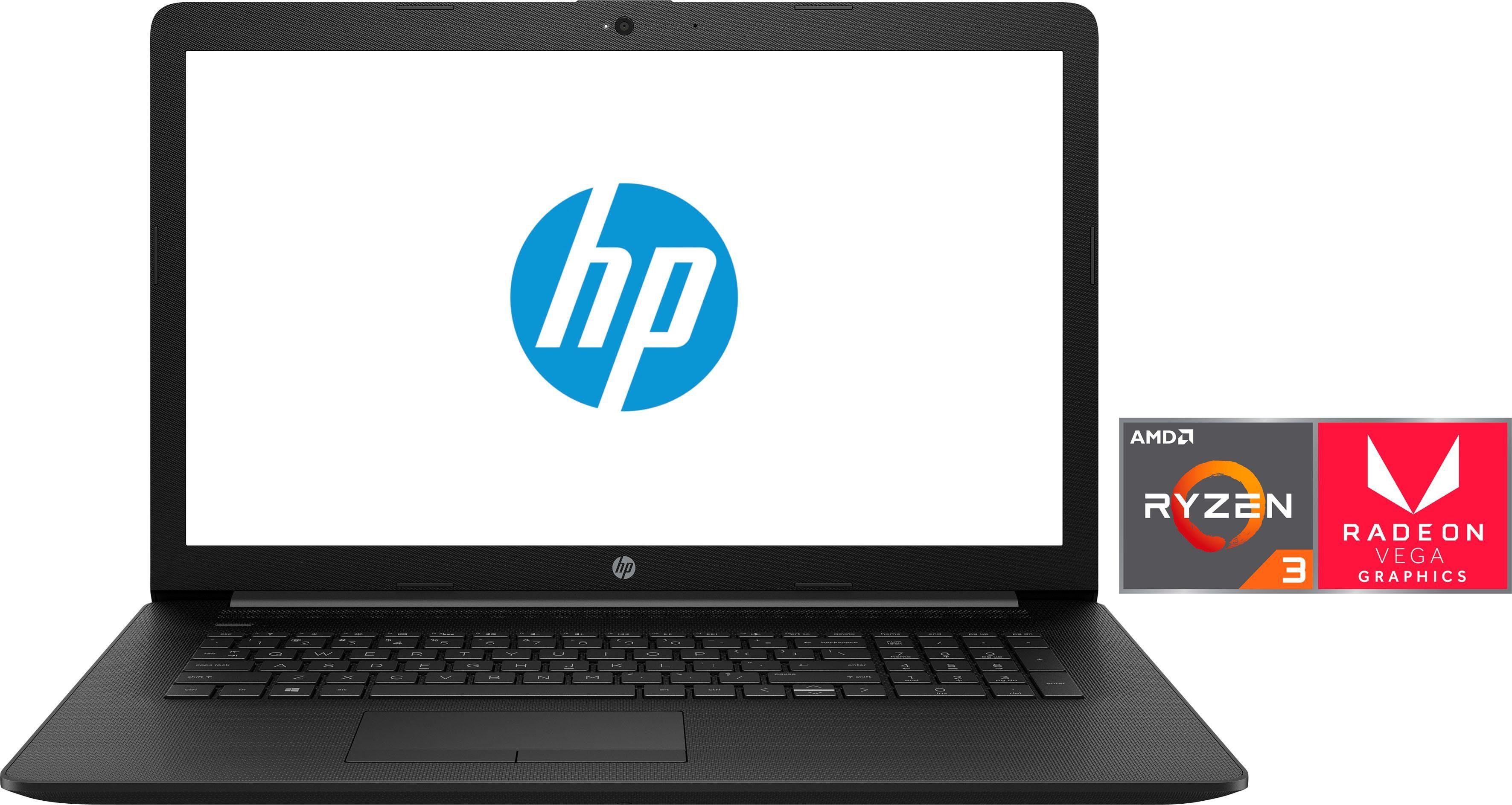 HP 17-ca0203ng Notebook (43,9 cm/17,3 Zoll, AMD Ryzen 3, Radeon, 1000 GB HDD, 128 GB SSD, inkl. Office 365 Personal (ESD)