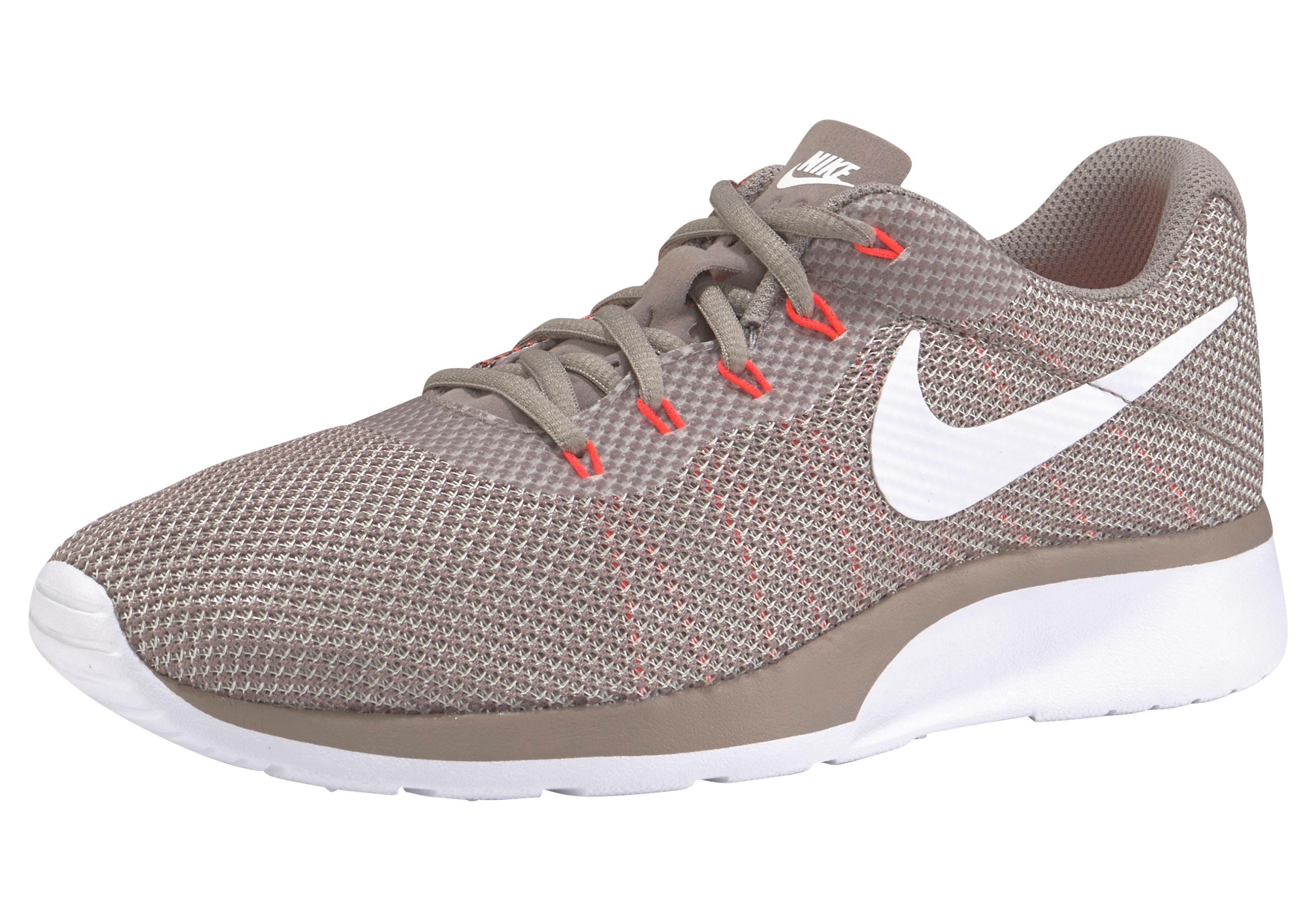 Nike Sportswear Tanjun Racer Sneaker kaufen  beige-neonorange