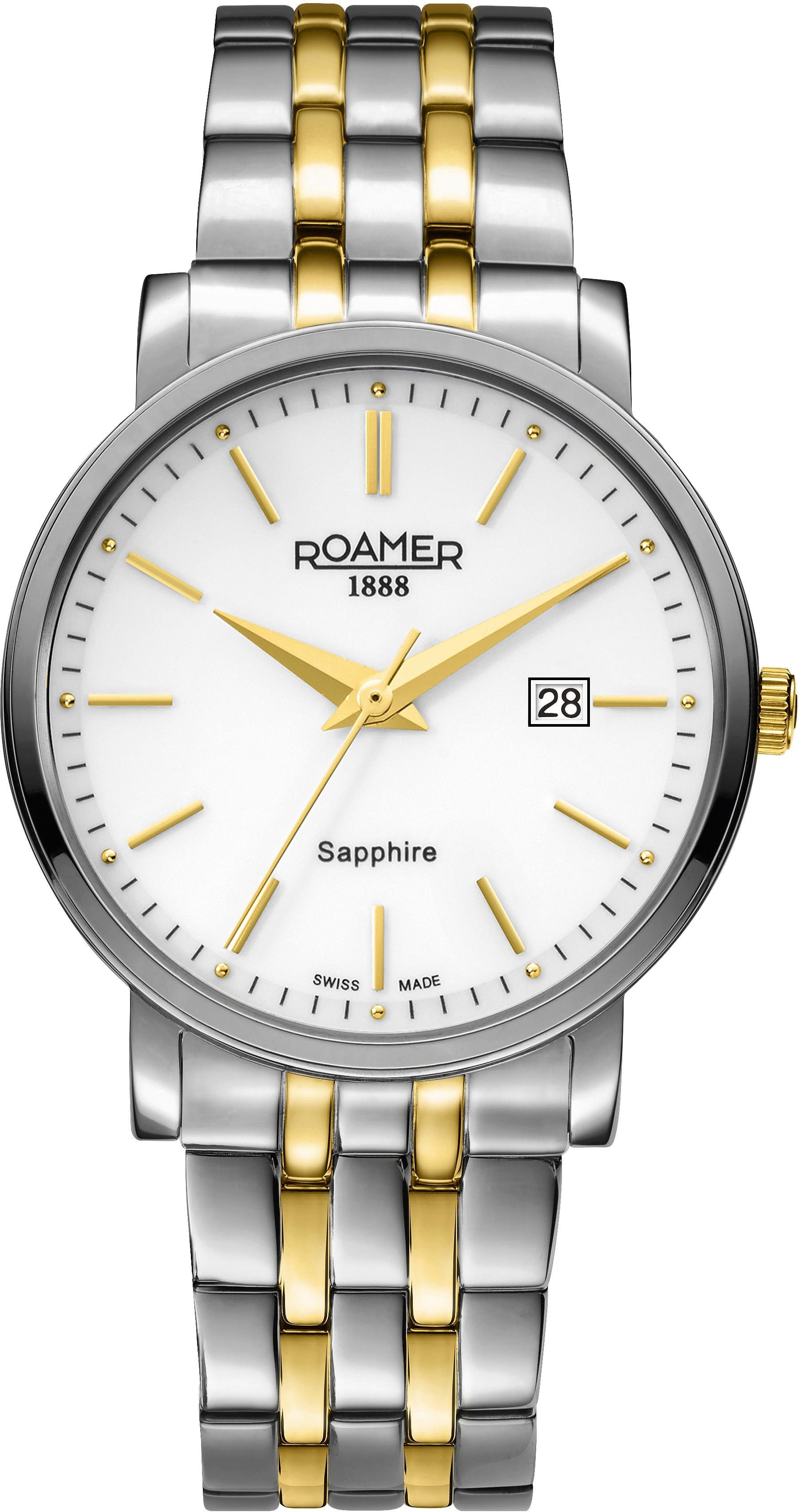 Roamer Schweizer Uhr »CLASSIC LINE GENTS, 709856 47 25 70«