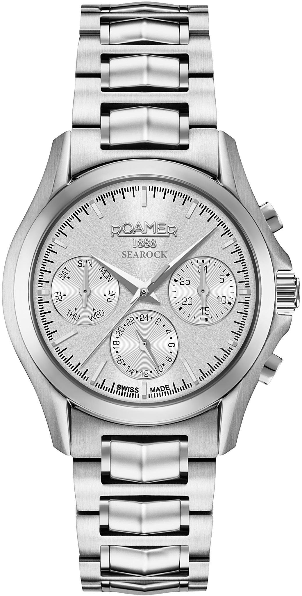Roamer Multifunktionsuhr »SEAROCK LADIES MULTIFUNCTION, 203901 41 15 20«