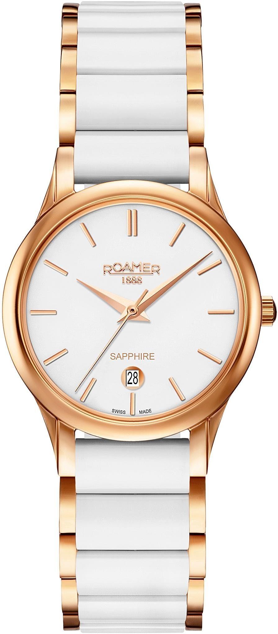 Roamer Schweizer Uhr »C-LINE LADIES, 657844 49 25 60«