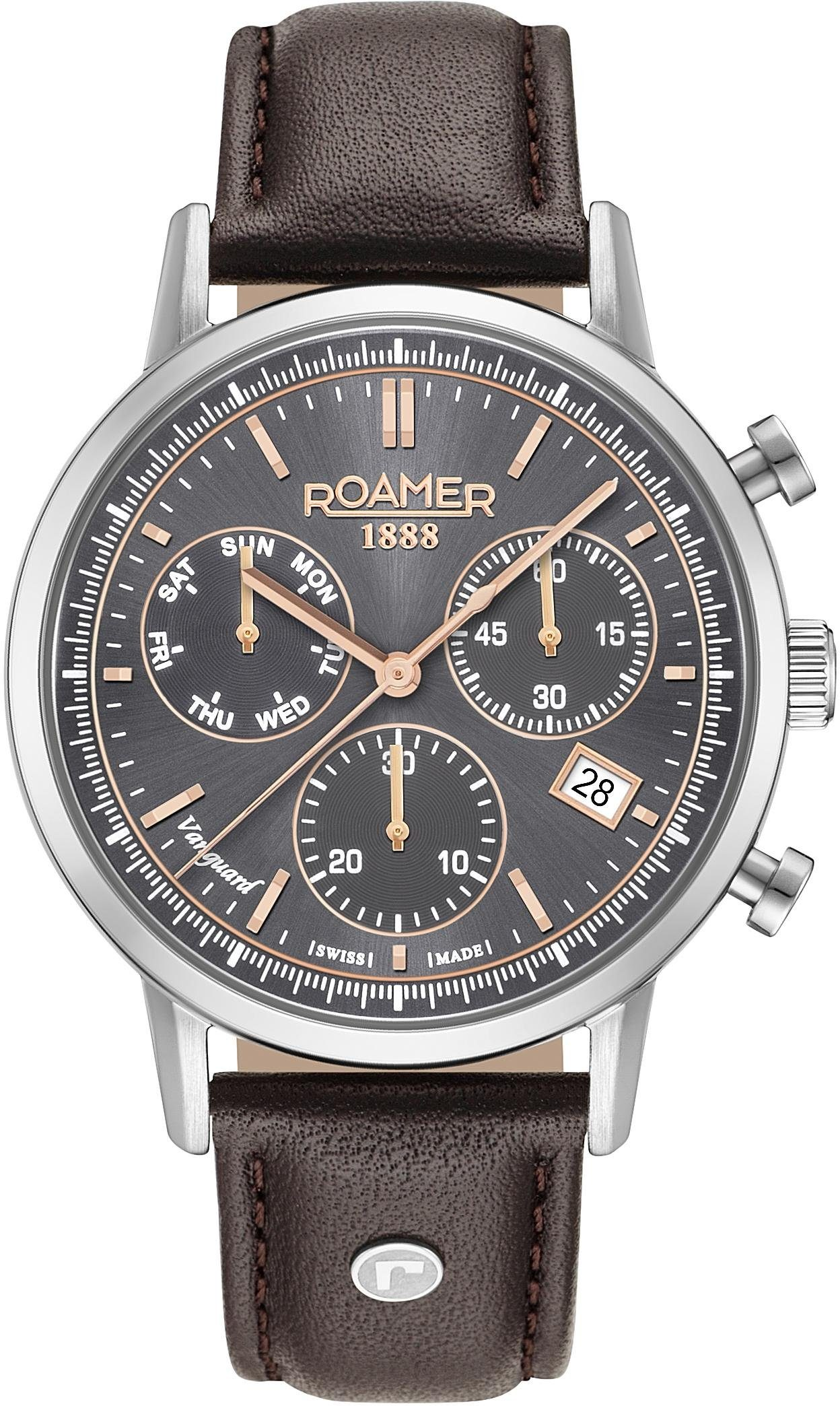 Roamer Chronograph »VANGUARD CHRONO II, 975819 41 05 09« mit kleiner Sekunde