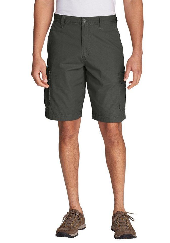 Herren Eddie Bauer Shorts Versatrex Cargoshorts grün | 04057682253992