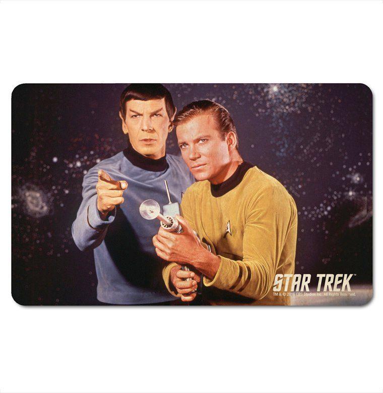 LOGOSHIRT Frühstücksbrettchen mit Star Trek-Motiv