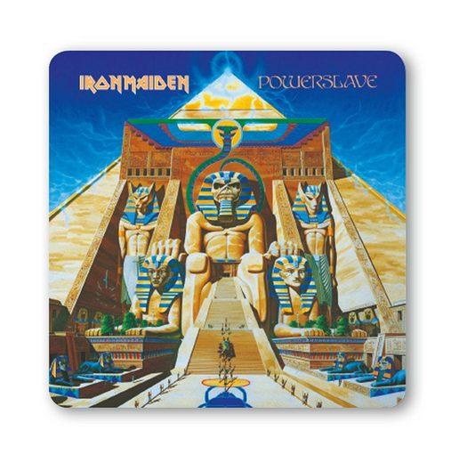LOGOSHIRT Untersetzer im Iron Maiden - Powerslave-Design