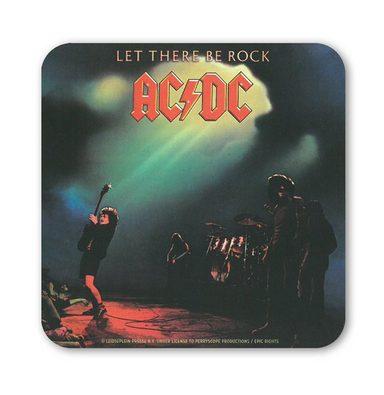 LOGOSHIRT Untersetzer mit AC/DC Album-Motiv
