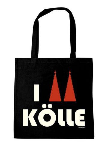 Stofftasche druck Logoshirt Love Kölle I Mit fqdawTdz