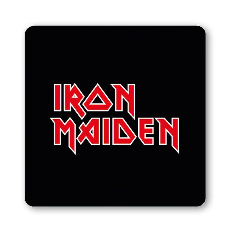 LOGOSHIRT Untersetzer mit Iron Maiden-Logo
