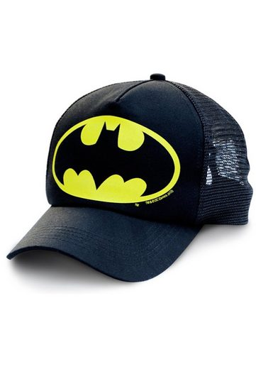 LOGOSHIRT Trucker-Cap im DC Comics-Design »Batman-Logo«
