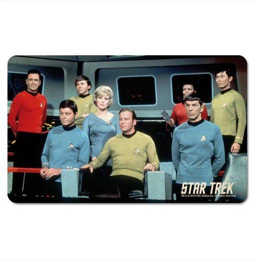 LOGOSHIRT Frühstücksbrettchen im klassischen Star Trek-Design