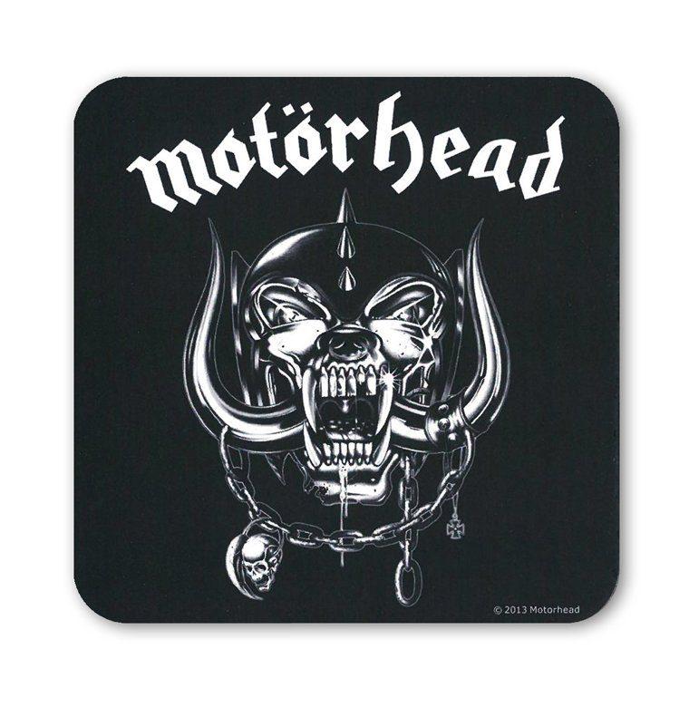 LOGOSHIRT Untersetzer mit Motörhead-Logo