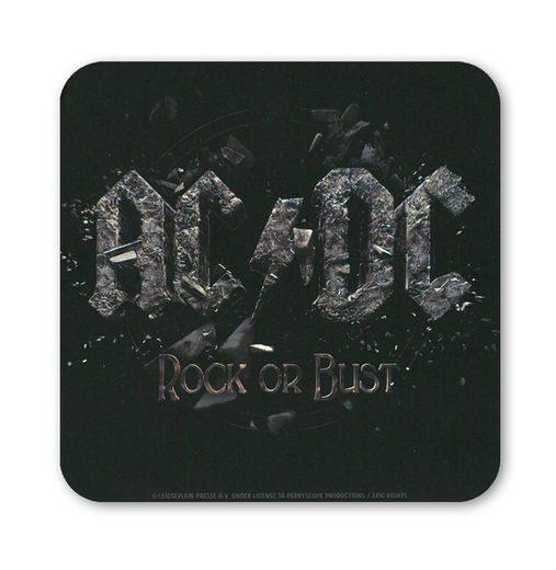 LOGOSHIRT Untersetzer im AC/DC-Design