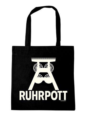 LOGOSHIRT Stoffbeutel mit Ruhrpott-Logo
