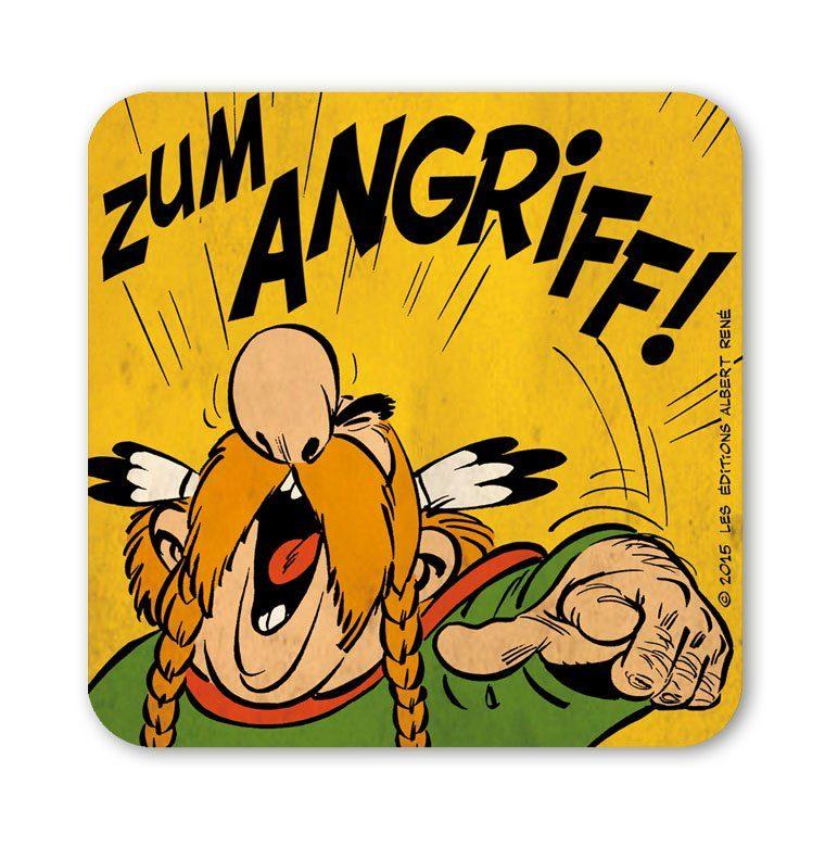 LOGOSHIRT Untersetzer mit lustigem Asterix-Motiv
