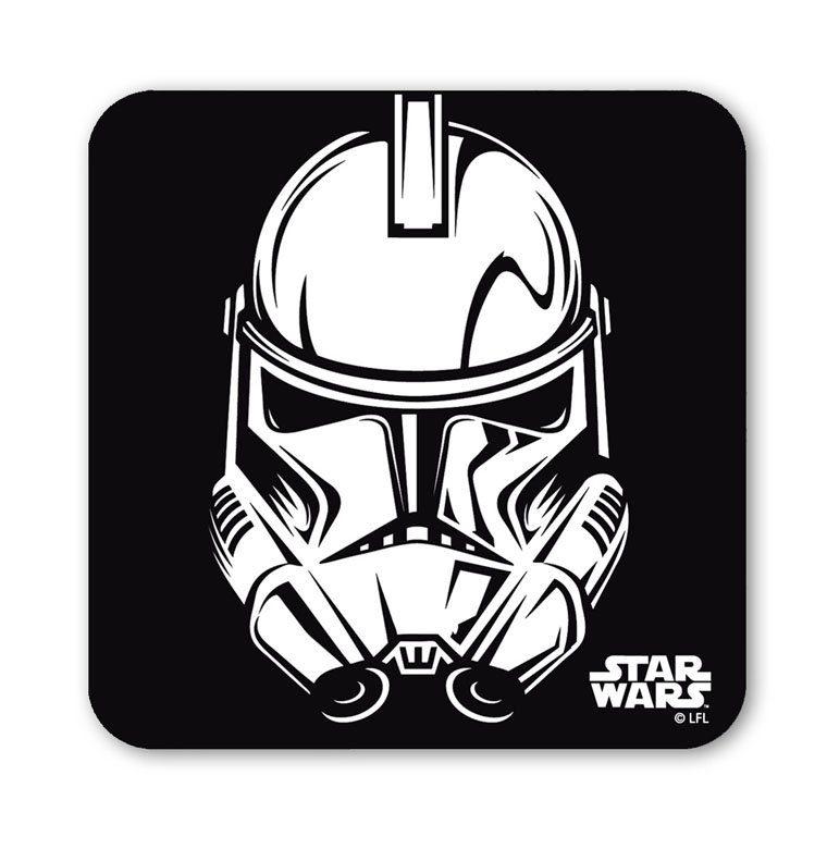 LOGOSHIRT Untersetzer mit coolem Star Wars-Motiv