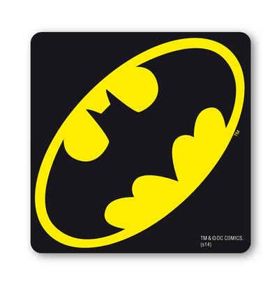 LOGOSHIRT Untersetzer mit coolem Batman-Logo