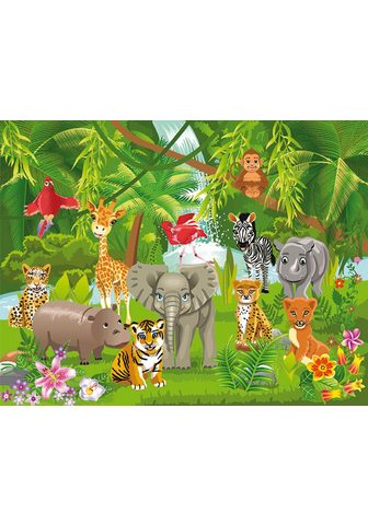 Фотообои »Kids Jungle Animals&la...