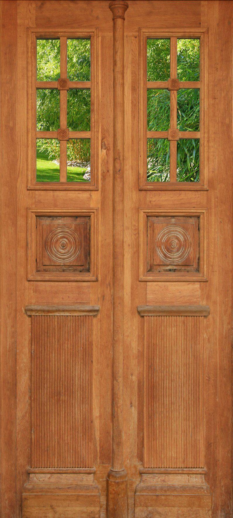 PAPERMOON Fototapete »Door - Türtapete«, Vlies, 2 Bahnen, 90 x 200 cm