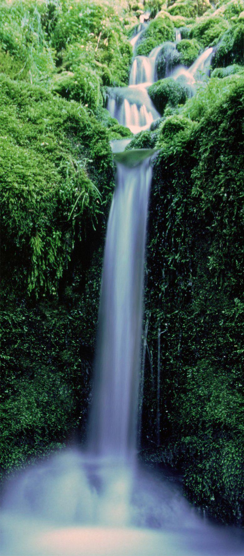 PAPERMOON Fototapete »Zaragoza Falls - Türtapete«, Vlies, 2 Bahnen, 90 x 200 cm