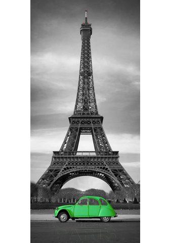 PAPERMOON Fototapetas »Paris - Türtapete« Vlies ...
