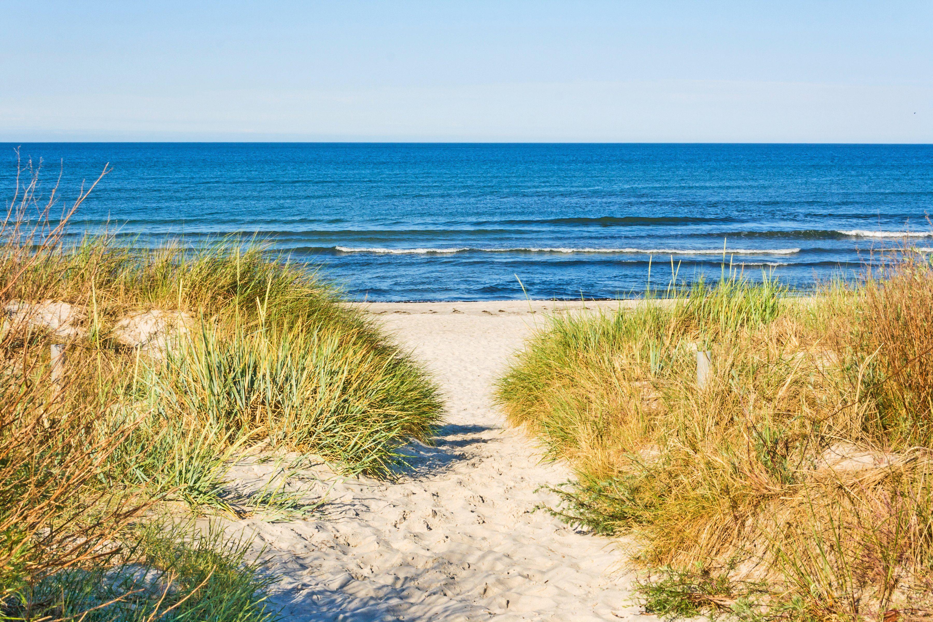 PAPERMOON Fototapete »Beach Access«, BlueBack, 7 Bahnen, 350 x 260 cm