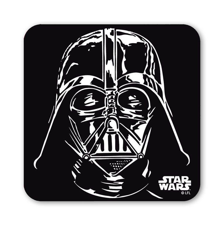 LOGOSHIRT Untersetzer mit Darth Vader-Druck