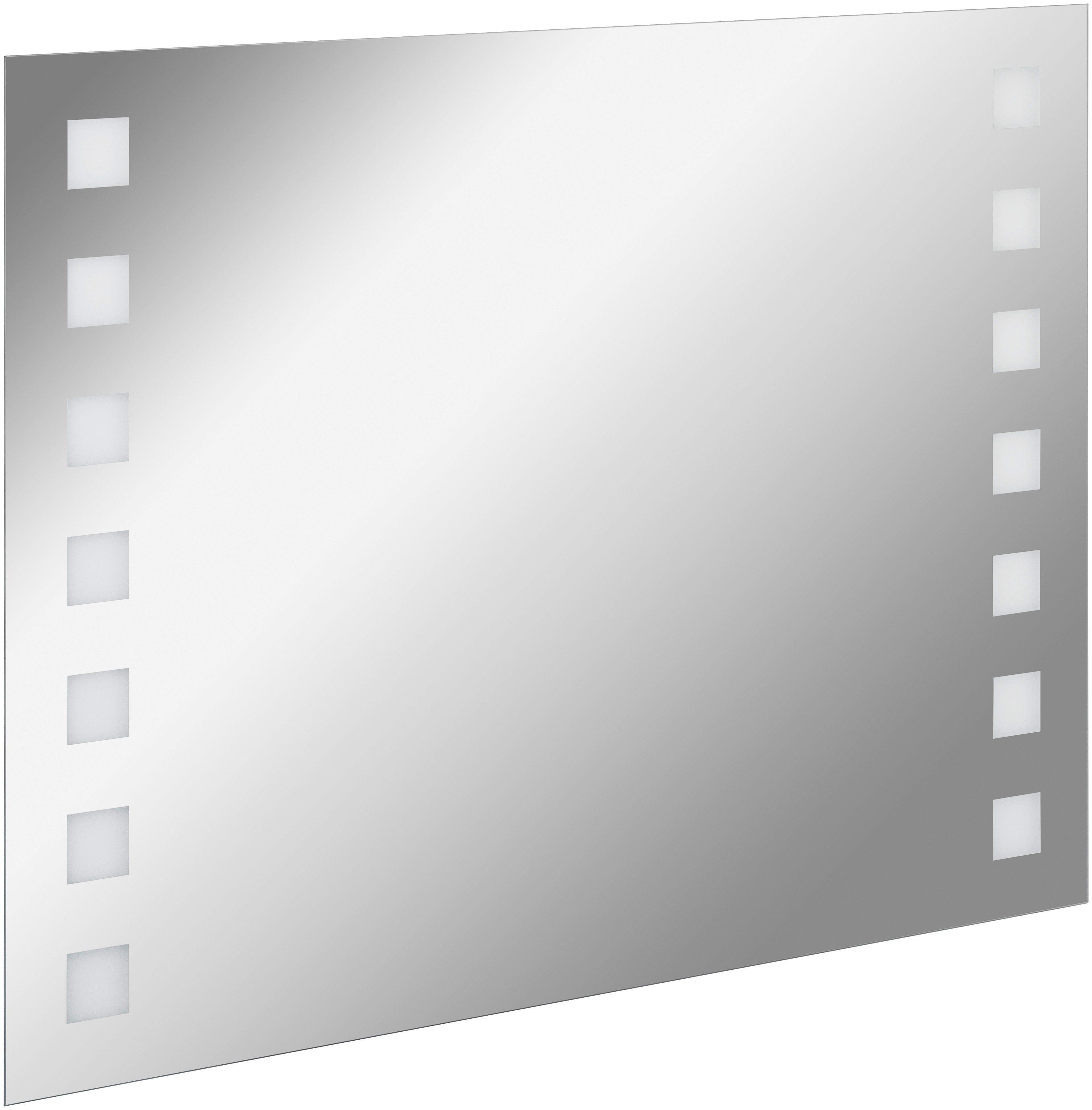 FACKELMANN Spiegelelement »KARO«, Breite 100 cm, mit Ambientelicht