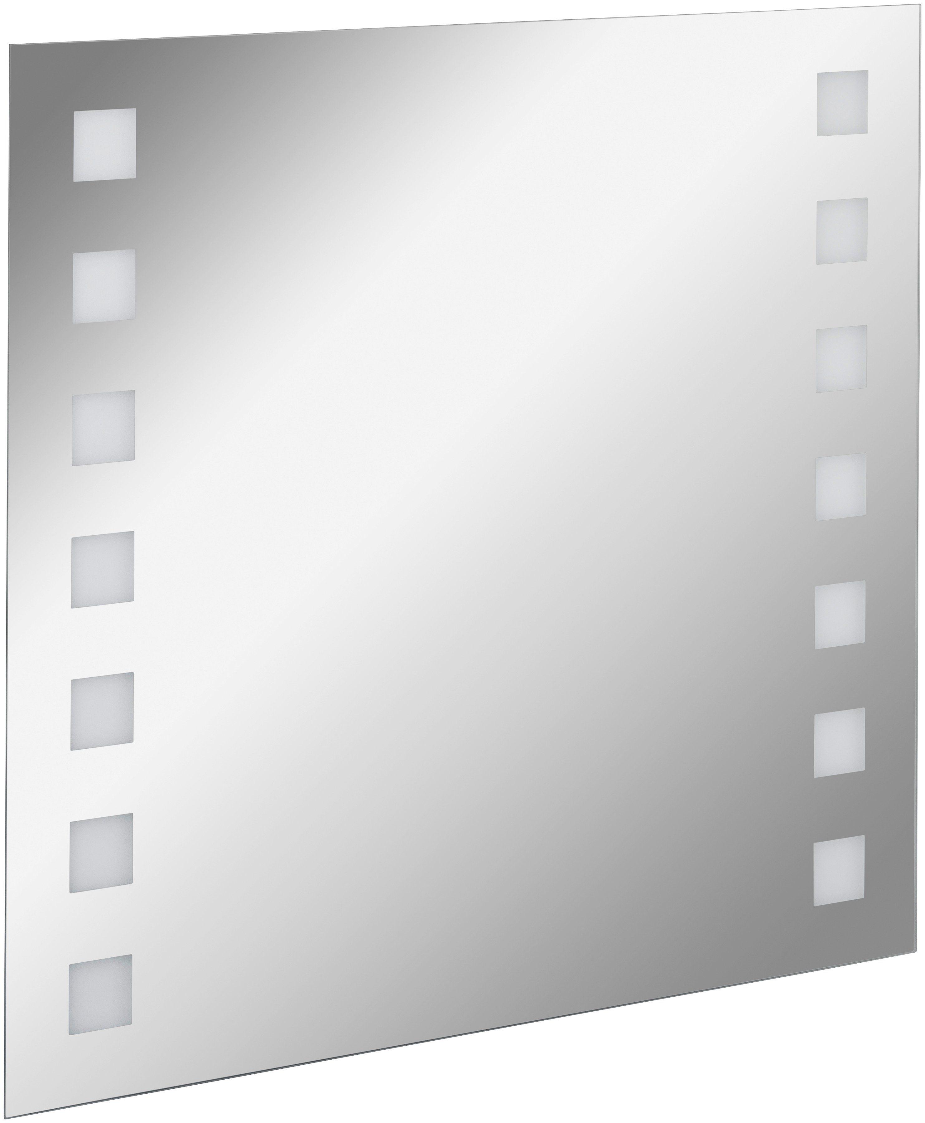 FACKELMANN Spiegelelement »KARO«, Breite 80 cm, mit Ambientelicht