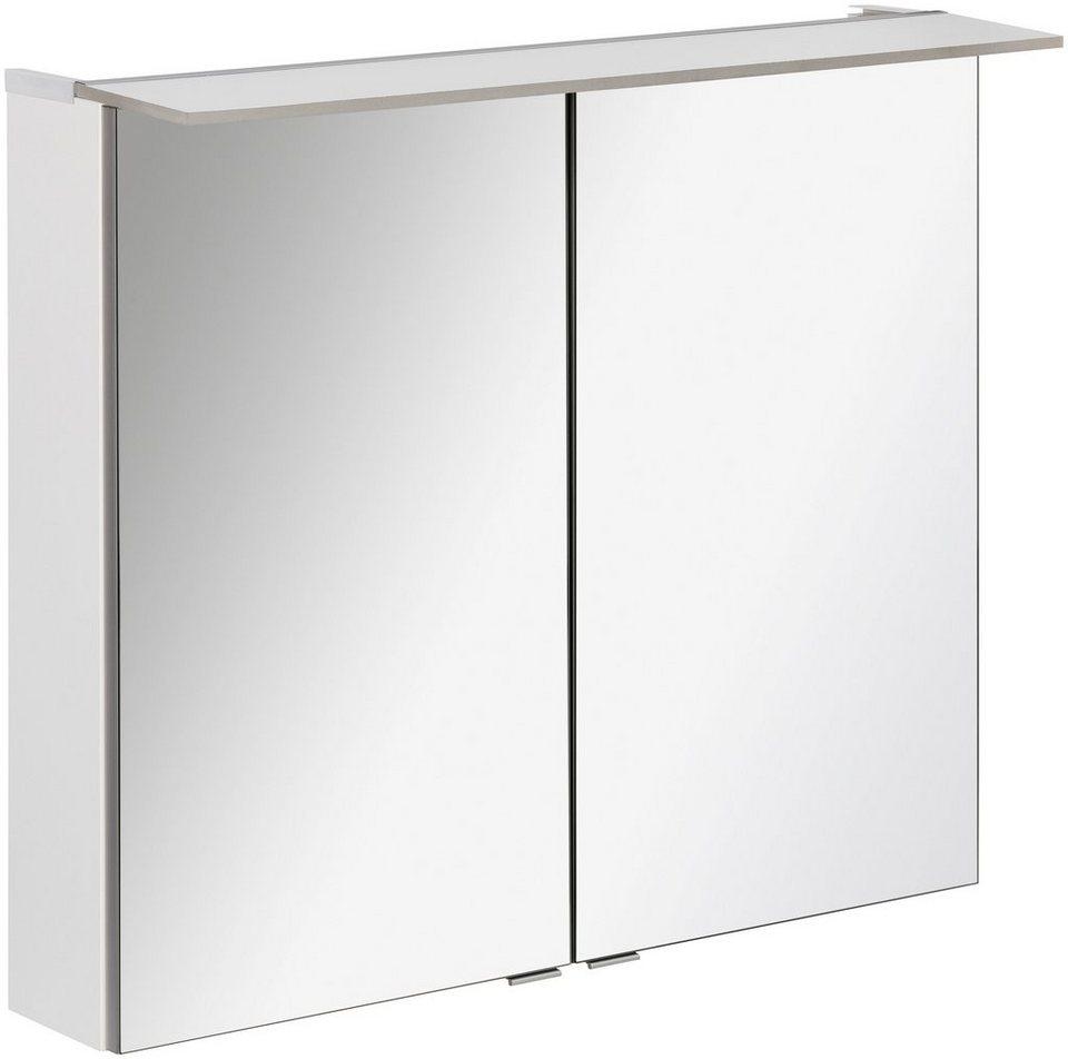 fackelmann spiegelschrank pe 80 wei breite 80 cm 2 On spiegelschrank weiß 80 cm